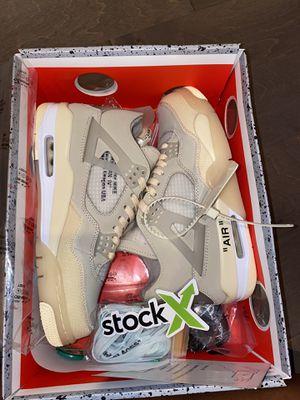 Nike Air Jordan Retro 4 Off-White for Sale in Atlanta, GA