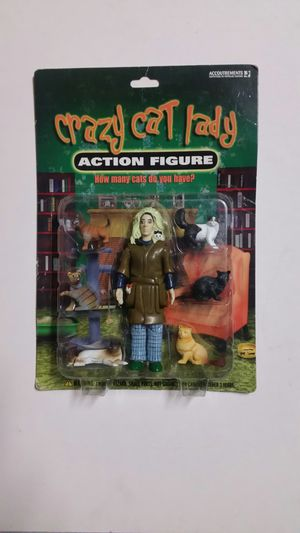 Crazy Cat Lady Action Figure for Sale in San Diego, CA
