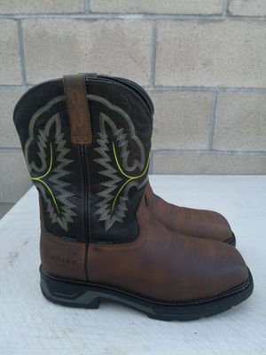 Ariat carbón toe work boots size 9.5EE for Sale in Riverside, CA