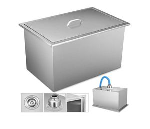 "21.2""x16.8"" BBQ Island Stainless Steel Drop in Ice Chest/cooler W/drain Close for Sale in South El Monte, CA"