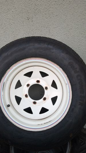 Tire and rim for trailer 205/75/15 for Sale in Whittier, CA