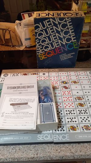 Sequence the game for Sale in Phoenix, AZ