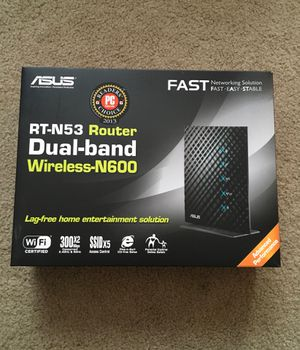 Asus router RT-N53 for Sale in Chicago, IL