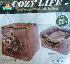 Convertible mink look dog 🐕 cat 🐈 pet bed for Sale in Hesperia, CA