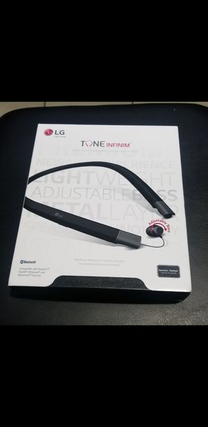 LG Tone INFINIM bluetooth wireless headsets earphones audifonos Retractable! HARMON / KARDON $70 EACH NO LESS for Sale in Compton, CA