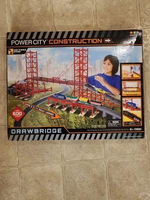 POWER CITY DRAWBRIDGE Construction Set (New Factory Sealed) for Sale in Lynnwood, WA