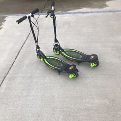 Two Razor Electric Scooters. for Sale in Kirkland,  WA
