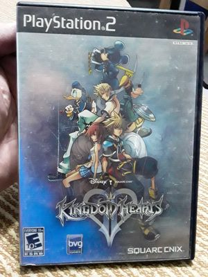 Kingdom Hearts 2 Playstation 2 Game Complete Case With Manual for Sale in Tamarac, FL