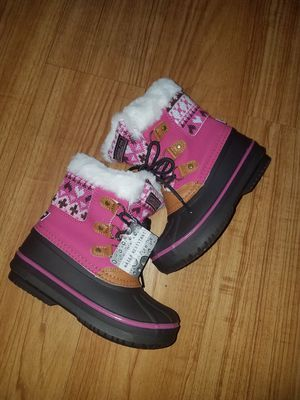 Snow boots for girl size 12 for Sale in Arlington Heights, IL