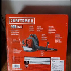 BRAND NEW, CRAFTSMAN46-cu cm 2-Cycle 220-MPH 490-cfm Gas Backpack Leaf Blower, NUEVA for Sale in Henderson,  NV