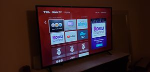55 INCHES TCL ROKU TV for Sale in Lovettsville, VA