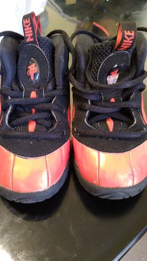 Orange and Black Nike Air Foamposite 6C Toddlers for Sale in Nashville, TN