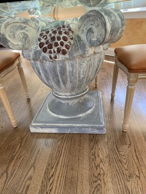 "Round 60"" glass kitchen table for Sale in Wayne, NJ"