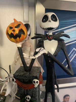 Nightmare Before Christmas Jack Skellington statue figurine Disney for Sale in Las Vegas, NV