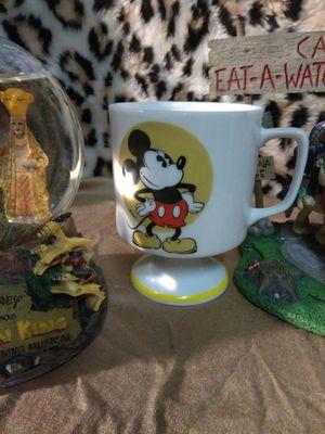 $10.00...Disney World, Mickey Mouse, VINTAGE pedestal coffee mug for Sale in Las Vegas, NV