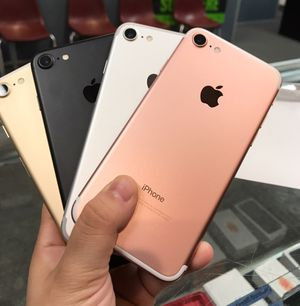 iPhone 7 32GB Unlocked Excellent Condition $249 Each for Sale in Durham, NC