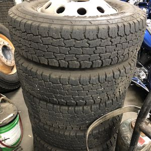 8 Lug Dodge Dually 3500 Cooper Tires And Wheels for Sale in Grand Prairie, TX