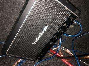 1200 watt rockford fosgate amp for Sale in Cleveland, OH