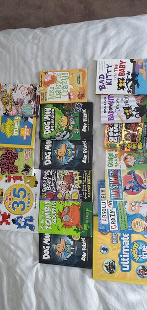 Huge lot of brand new kids books. Smoke free home and in perfect shape. for Sale in Skandia, MI