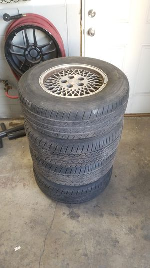 1996 Jeep Cherokee XJ wheels and tires 225/70/15 for Sale in Federal Way, WA