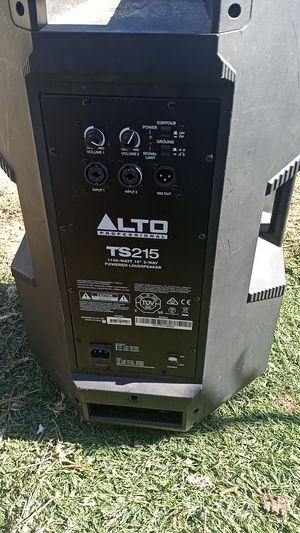 Alto ts215 15' loudspeaker for Sale in Playa del Rey, CA
