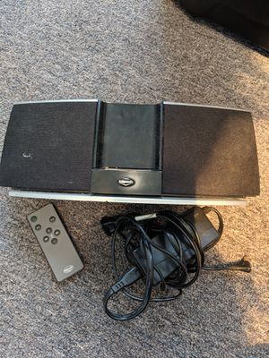 Klipsch Audio Speakers for iPod/iPhone (30 pin), compact speaker system with remote power adapter & cord for Sale in Houston, TX
