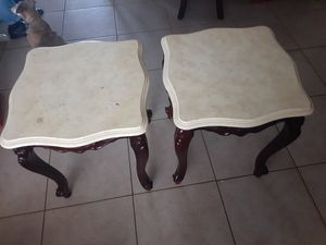 2 end tables for Sale in Miami, FL