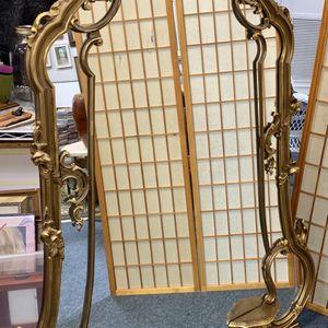 Beautiful Antique Gold Gilt Mirror- for Sale in Miami, FL