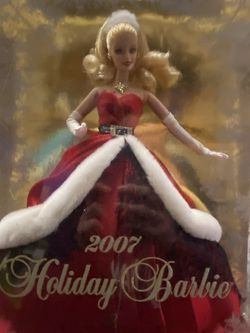 2007 Holiday Barbie NEVER LEFT BOX NEVER UNSEALED for Sale in Los Angeles,  CA