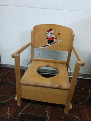 Vintage antique potty chair kids toddlers for Sale in Lake Stevens, WA