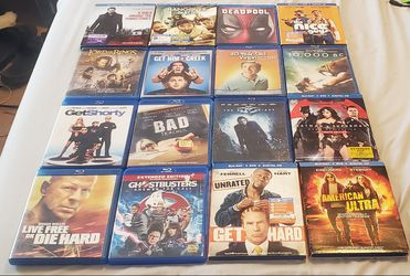 (41) Blu Ray DVD Movies for Sale in White Hall,  WV