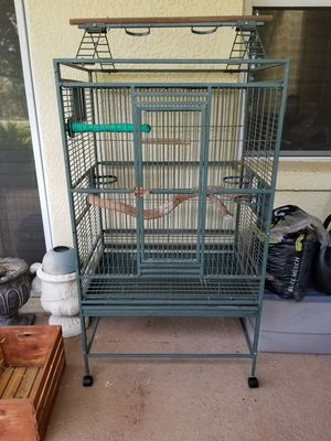 Large Bird Cage on Wheels for Sale in Windermere, FL