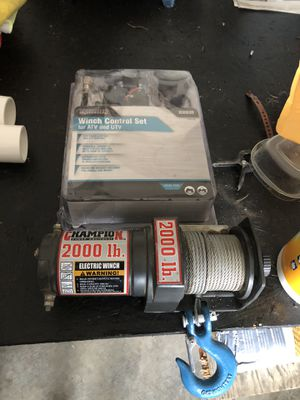Brand new winch with brand new wiring set both still in box for Sale in Gilroy, CA