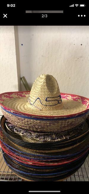 Mexican Colored Edge Sombrero for Sale in Clayton, CA