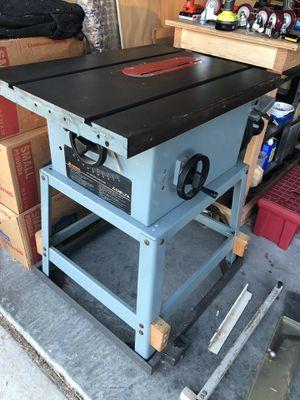 """Delta 10"""" Table Saw for Sale in Chula Vista, CA"""