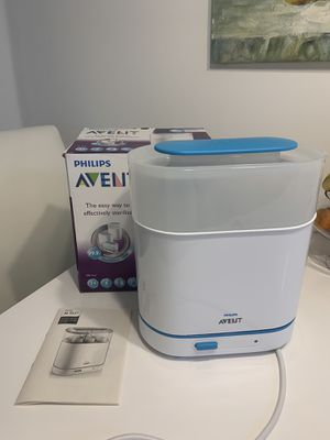 Electric Steam Sterilizer for Baby Bottles, Pacifiers, Cups and More for Sale in HALLANDLE BCH, FL