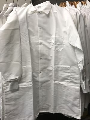 New lab coat, long length and ribbed cuffs for Sale in Tacoma, WA