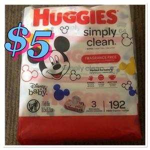 Huggies baby wipes for Sale in San Diego, CA