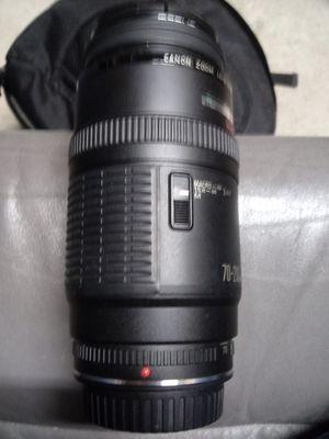 Canon 70-210mm lens. for Sale in Salt Lake City, UT