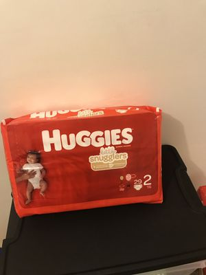 Huggies size 2 for Sale in Hanover Park, IL