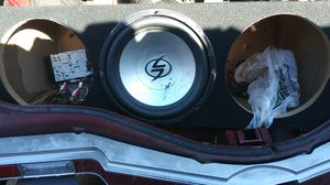 Subwoofer box for 3 12s and good condition for Sale in Sacramento, CA