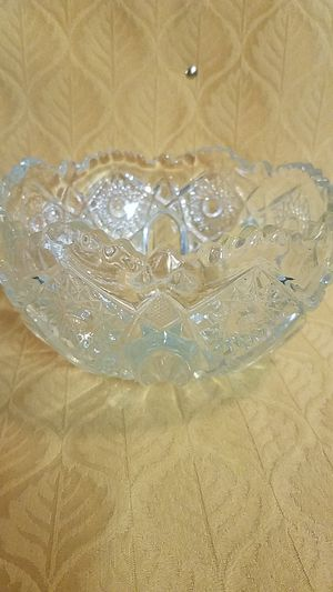 Antique American Crystal Fruit Bowl for Sale in Winterville, NC