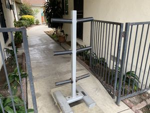 Olympic weight tree stand heavy duty for Sale in Fullerton, CA