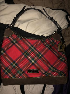 Plaid Dooney bag and matching bag. Heavy material. for Sale in Las Vegas, NV