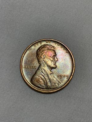 1909 VDB WEHAT CENT *BEAUTIFUL RAINBOW TONED* (you'll receive the exact coin in the photos) for Sale in El Cajon, CA