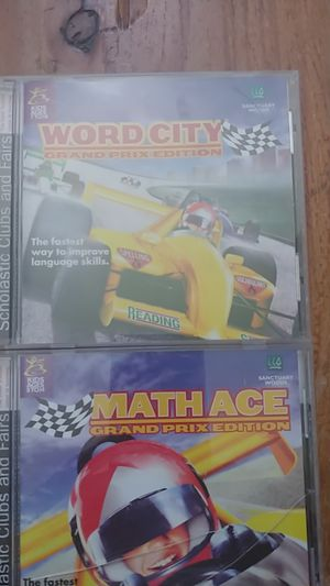 Word City/Math Ace CD-rims grades2-8 for Sale in Wildomar, CA