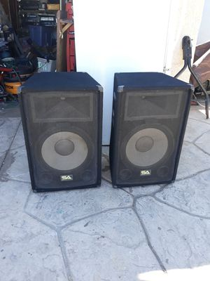 DJ PRO AUDIO SPEAKERS for Sale in Escondido, CA