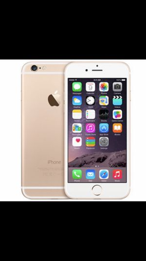iPhone 6 128g in white/gold for Sale in Portland, OR