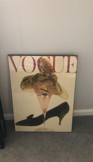 Vogue perfect condition canvas for Sale in Dearborn, MI