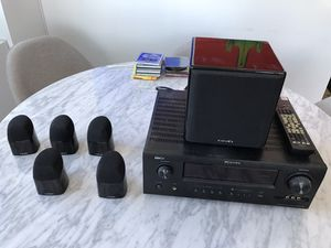 Denon and Mirage full 5.1 home theater system for Sale in New York, NY